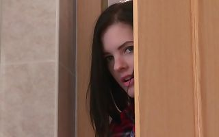 Anie Darling & Daisy Lee & Miky Love in Woman spies bathroom beaver munching - Girlfriends