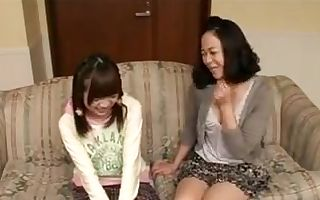 Mother and daughter have fun 2