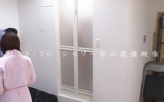 Favorite Japanese whore Mana Sakura in Crazy showers, blowjob JAV movie