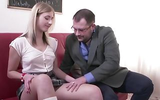 Dirty Professor Fucks Slutty Student