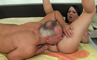 Young Chanel in nasty game with older man